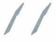 Flying Leathernecks  1/72 Orion F-18A F/A-18A Hornet Tail Stiffeners #V72002 ORDV72002