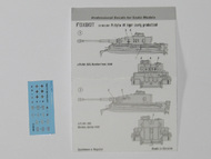 Foxbot Decals  1/100 Pz.Kpfw.VI Tiger (middle and late production) FB100006