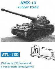 Friulmodel  1/35 AMX 13  Rubber-Type Track Set (170 Links) (D)<!-- _Disc_ --> FRIATL130