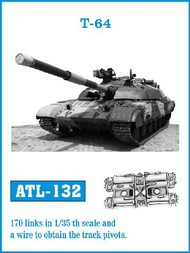 Friulmodel  1/35 T64 Track Set (170 Links) (D)<!-- _Disc_ --> FRIATL132