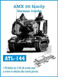 Friulmodel  1/35 German AMX 30 Family Track Set (170 Links) (D)<!-- _Disc_ --> FRIATL144