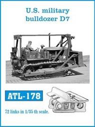 US Military Bulldoze D7 Track Set (72 Links) #FRIATL178