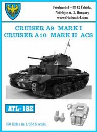 Cruiser A9 Mark I Cruiser A10 Mark II ACS Track Set (150 Links) #FRIATL182