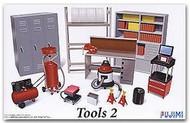 Fujimi  1/24 Garage Tools Set #2 (Compressor, Shop Vac, Lockers, etc.) FJM11371