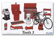 Fujimi  1/24 Garage Tools Set #3 (Jack, Heater, Tool Chest, Bike, etc.) FJM11373