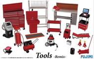 Fujimi  1/24 Garage Tool Set - Remix FJM11439