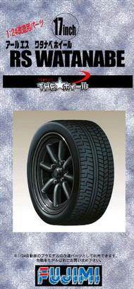 "Fujimi  1/24 RS Watanabe 17"" Tire & Wheel Set (4) FJM19291"
