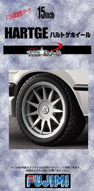 "Fujimi  1/24 Hartge 15"" Tire & Wheel Set (4) FJM19298"