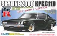 Nissan Skyline 2000 GT-R (KPG110) Full Works Over Fender Version Car #FJM3803