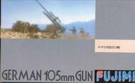 Fujimi  1/76 Collection - German 105mm Gun FJM38033