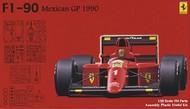 Fujimi  1/20 1990 Ferrari F1-90 Mexican Grand Prix Race Car FJM9043