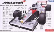 Fujimi  1/20 1991 McLaren Honda MP4/6 Japan Grand Prix Race Car FJM9044