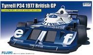 Fujimi  1/20 Tyrrell P34 1977 British Grand Prix Race Car FJM9191