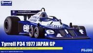 Fujimi  1/20 Tyrrell P34 1977 Japan GP Long Wheel Version Race Car FJM9205