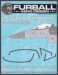 Lockheed-Martin F-16CJ Canopy Seals #FBD48062