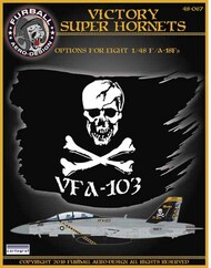 Victory Super Hornets� set with markings for eight VFA-103 F/A-18 #FBD48067