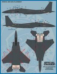 McDonnell F-15C/F-15E Heritage Eagles #FBD48071