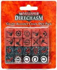 Games Workshop   N/A 110-10 WHU: GRAND ALLIANCE CHAOS DICE PACK GW11010