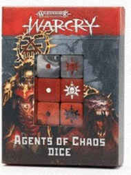 Games Workshop  No Scale 111-73 WARCRY: AGENTS OF CHAOS DICE GW11173