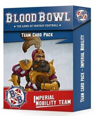 Games Workshop  No Scale 200-92 BLOOD BOWL: IMPERIAL NOBILITY CARD PACK GW20092