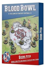 Games Workshop  No Scale 202-17 Sevens Pitch: Double-sided Pitch and Dugouts for Blood Bowl Sevens GW20217