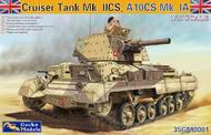 Cruiser A10 Mk IA/IIA CS Tank (New Tool) #GKO35001