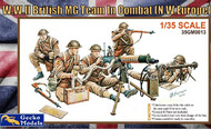 WWII British MG Team in Combat NW Europe (5) (New Tool) #GKO350013
