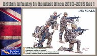 British Infantry in Combat 2010-12 Set 1 (4) (New Tool) #GKO350015