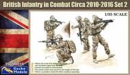 British Infantry in Combat 2010-16 Set 2 (4) (New Tool) #GKO350016