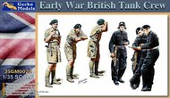 Early War British Tank Crew (6) (New Tool) #GKO350022