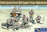 British Special Forces w/Support Troops Afghanistan (6) (New Tool) - Pre-Order Item #GKO350023