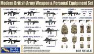 Modern British Army Weapon & Personal Equipment Set #GKO350026