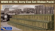WWII US 20L Jerry Can Set (Value Pack) #GKO350036