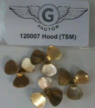 G-Factor  1/200 HMS Hood Brass Propellers for TSM (4) GFM120007