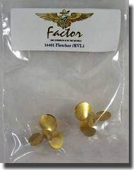 G-Factor  1/144 US Fletcher Brass Propellers GFM14401