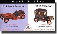 Glencoe Models  Misc 1914 Stutz Bearcat & 1915 T-Sedan GLM3607