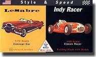 Glencoe Models  Misc LeSabre Concept & Indy Racer  GLM3608