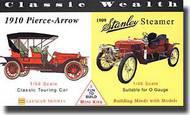Glencoe Models  Misc 1910 Pierce-Arrow/1909 Stanley Steamer GLM3609