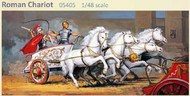 Roman Chariot w/4 Horses & 2 Charioteers #GLM5405