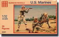 Glencoe Models  1/32 US Marines WWII (20) GLM2201