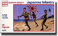Glencoe Models  1/32 Japanese Infantry WWII (20) GLM2202