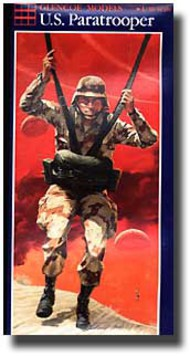 Glencoe Models  1/8 US Paratrooper GLM5902