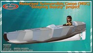 GMU  1/35 Motorized submersible canoe 'Sleeping Beauty' project GMU35001