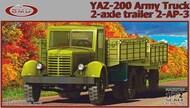 YAZ-200 Army truck with 2-axle trailer 2-AP-3 #GMU72001