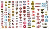 Gofer Racing  1/24-1/25 Manufacturer Sponsor Logos #1 GOF11006