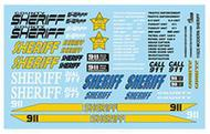 Gofer Racing  1/25 SHERIFF DECALS GOF11025