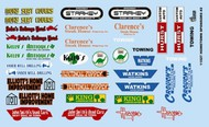 Gofer Racing  1/24-1/25 Hometown Sponsor Logos #2 GOF11027