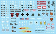 Gofer Racing  1/24-1/25 Stuff Sheet #3 - Hemi, Everide, Hoosier, etc. GOF11035