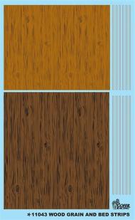 Gofer Racing  1/24-1/25 Wood Grain (Light & Dark) & Bed Stripes GOF11043
