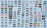 Gofer Racing  1/24-1/25 Drag Racing Goodies (Logos) GOF11049
